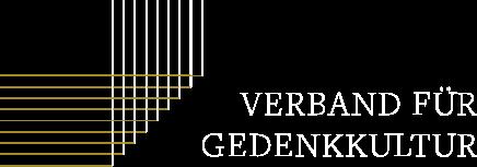 Logo des Verbandes für Gedenkkultur